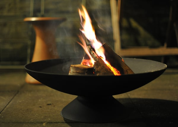 Cheap Cast Iron Fire Pit & Brazier – Lovely lovely evening warmth!