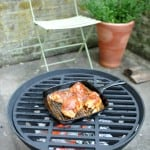Cheap Cast Iron Brazier with Grill for Outside Cooking