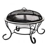 Cheap Stainless Steel Denver Fire Bowl. Lazy summer evenings!