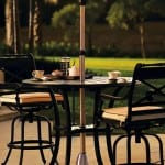 Cheap Adjustable Standing Patio Heater - For Sale UK