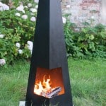 Awesome Cheap Contemporary Cuba Chimenea Black - Buy in UK