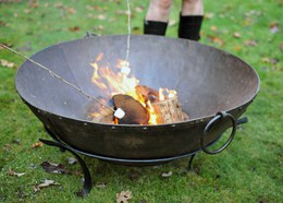 Indian outdoor brazier fire pit
