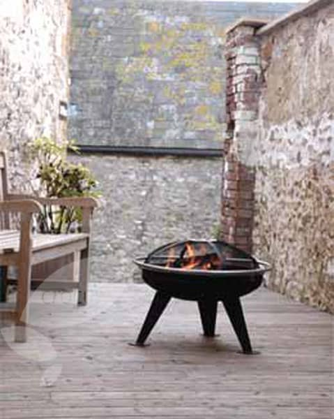 Medium party brazier and barbecue
