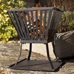 Square steel firebasket – Buy fire baskets online