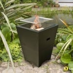 Venezia firepit and barbecue