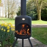 Large steel  Chiminea - Buy fire chimineas online