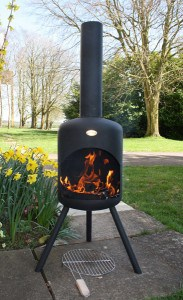 buy large steel bonfeu chimenea