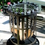 Vancouver Steel Firebasket - A Very Smart Looking Barbeque!