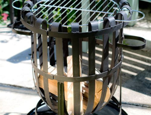 Vancouver Steel Firebasket – A Very Smart Looking Barbeque!