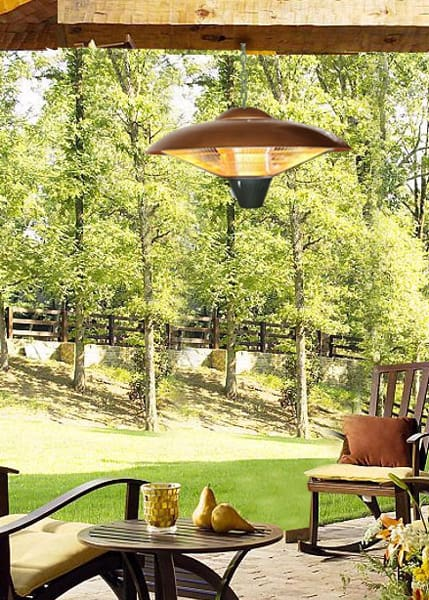 Unique Hanging patio heater